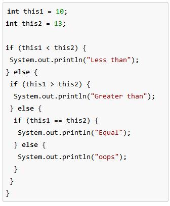 How To Compare Integer Values In Java Video Lesson Transcript
