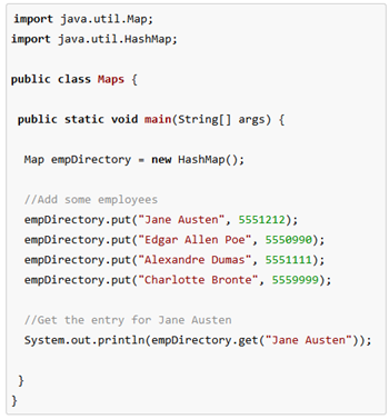 Java: Associative Arrays | Study.com