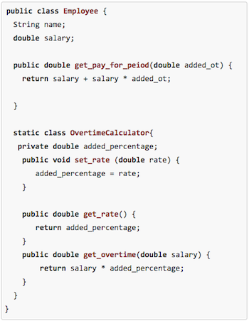 Static Nested Classes in Java: Definition & Example | Study com