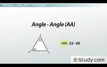 How To Identify Similar Triangles Video Lesson Transcript