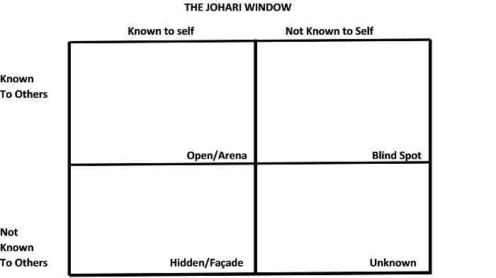 Practical Application Self Assessment Using The Johari