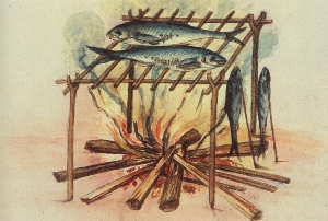 John White Image of Cooking Fish