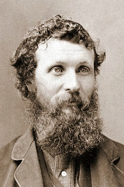 Photo of John Muir in 1875