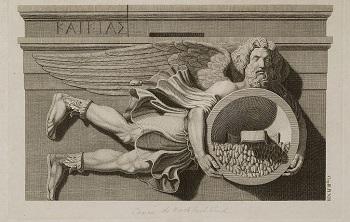 Lesser Wind Deities of Greece: Kaikias, Apeliotes, Skiron