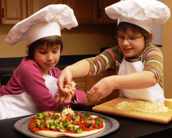Parents who include their gifted children in household activities such as cooking provide them with important learning activities outside the classroom.