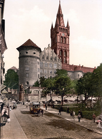 Konigsberg during the time period David Hilbert lived there