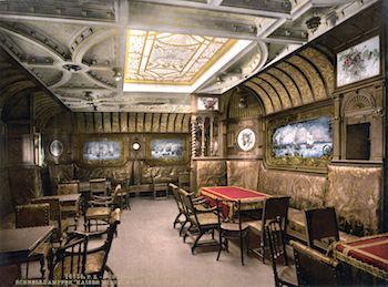 SS Kaiser Wilhelm Der Grosse Smoking Room