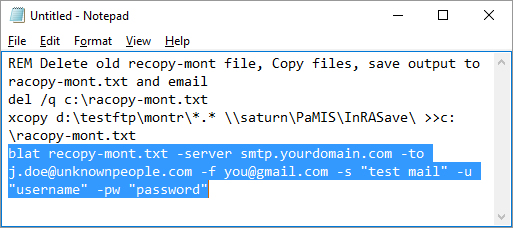 How to Send Email from a Batch File - Video & Lesson
