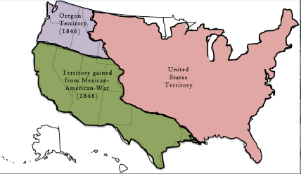Westward Expansion For Kids Definition Timeline Studycom - Us map with teritoal purchases