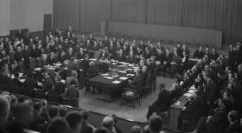 League Assembly in Geneva on Dec. 18, 1935
