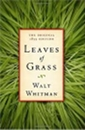 free ebook book cover Leaves grass whitman