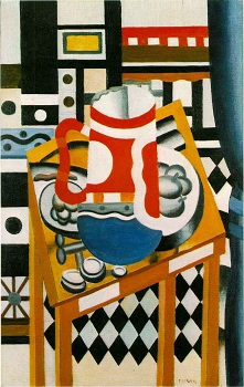 braque still life with violin and pitcher