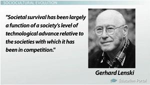gerhard lenski sociocultural evolution