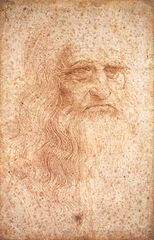 Painting of da Vinci