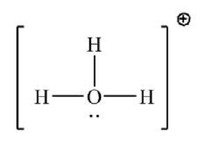 How do you set up the Lewis structure for H3O+? | Study.com