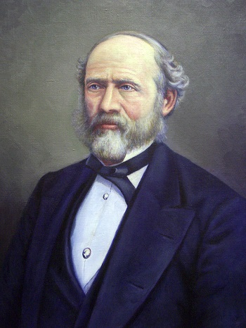 Lewis Henry Morgan Portrait