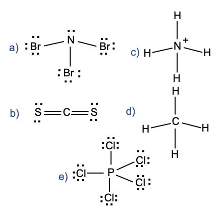 Which Of The Following Molecules Is Polar A Nbr 3 B Cs 2 C Nh 4 D Ch 4 E Pcl 5 Study Com
