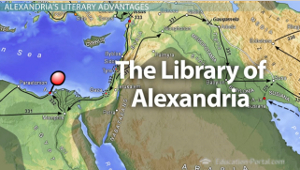 Library of Alexandria Map