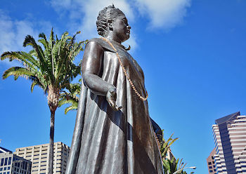 Liliuokalani Monument in Honolulu