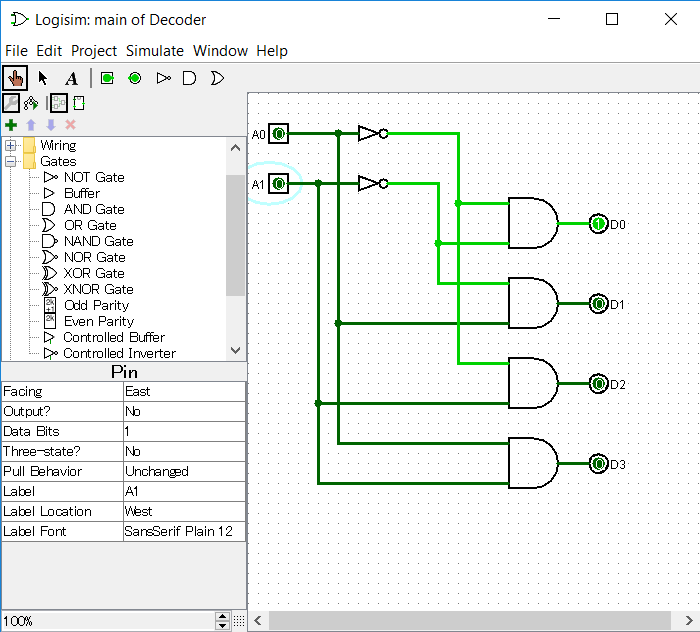 using logisim to build half \u0026 full adders study comLogsim Digital Electronic Simulator Download Logisim Educational Tool #17