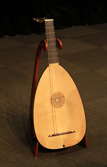 Asian multi stringed musical-1319