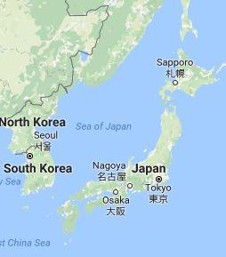 Major Asian Capitals