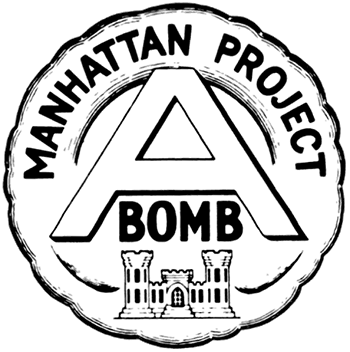 Unofficial 1940s Manhattan Project emblem
