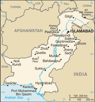 Pakistan Facts Lesson For Kids Studycom - Where is pakistan