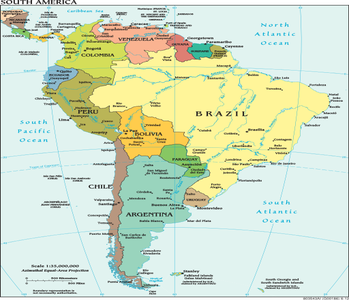 Lovely South American Countries