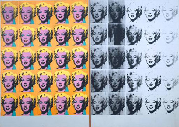 Marilyn Diptych by Andy Warhol (1962)