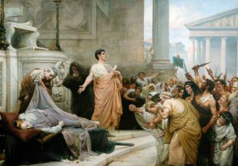 virtue and ambition in julius caesar 'julius caesar' (1599) act 3, sc 1, l 83 when that the poor have cried, caesar hath wept: ambition should be made of sterner stuff: yet brutus says he was ambitious and brutus is an honourable man.