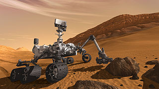 Mars Curiosity Rover Looking for Life on Behalf of Astrobiologists
