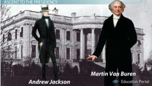 Martin Van Buren andrew jackson