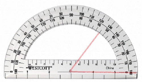 Quiz Worksheet Using A Protractor To Measure Angles Study