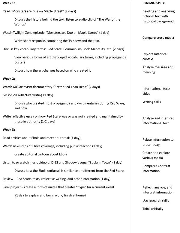 Media literacy essay - special offer