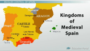Medieval Spain Kingdoms