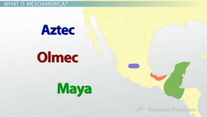 Mesoamerican civilizations the olmecs to cortes video lesson mesoamerican civilizations map gumiabroncs Image collections