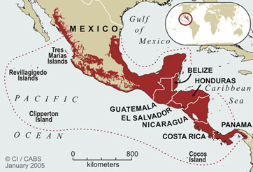 Imperialism In Latin America Map.Central America History Overview Study Com