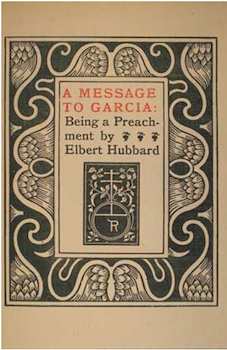 elbert hubbard biography books quotes com a message to garcia title page