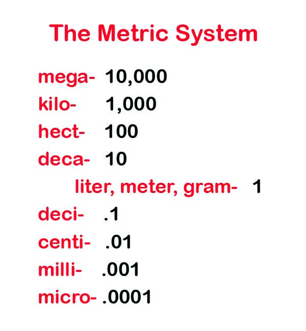 Metric System Definition For Kids