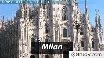 key characteristics of gothic architecture essay