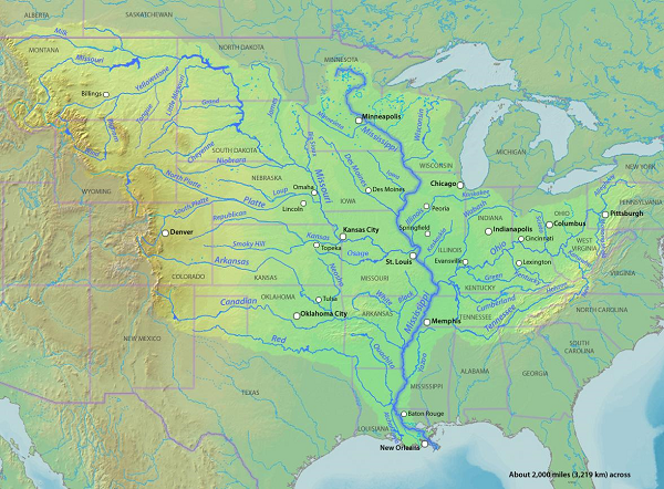 The mississippi river facts history amp location study com