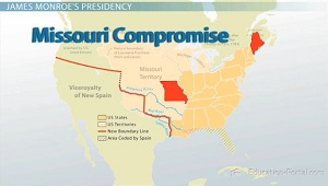 Missouri Compromise Map Image