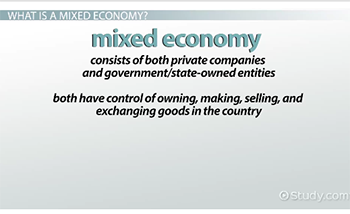 Market Economy: The Consumer Plays A Larger Role Than The National And  State Government.