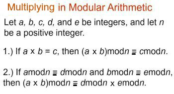 how to find congruent modulo in negative