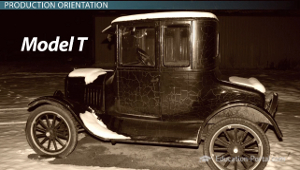 Model T Production Orientation Example