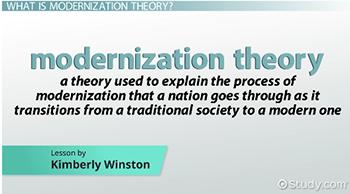 ww rostow modernization theory