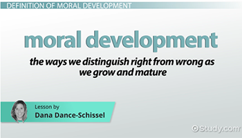 what is moral development definition stages video lesson  key terms in moral development