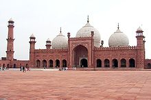 Mosque in Lahore, Pakistan