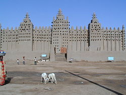 West African Mosque in Djenne